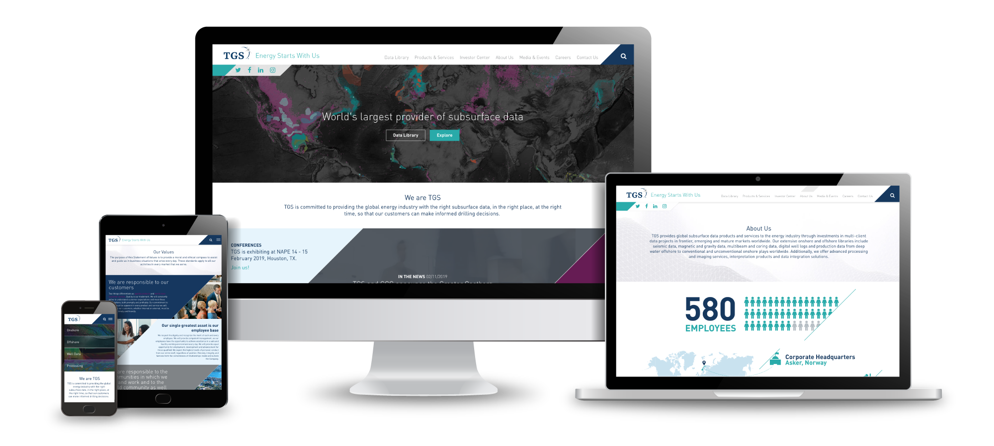 HexaGroup launches new TGS website